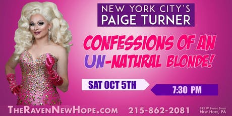 Paige Turner: Confessions of an Unnatural Blonde tickets