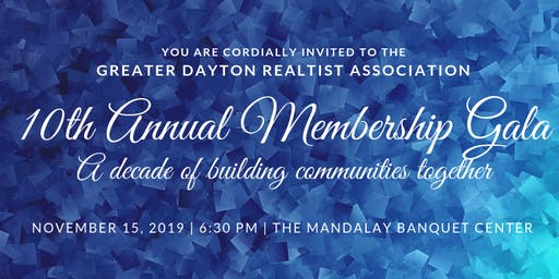 GDRA 10th Annual Membership Gala: A Decade of Building Communities Together