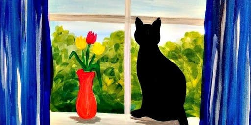 Paint Wine Denver Meow Sun Nov 17th 5:30pm $25