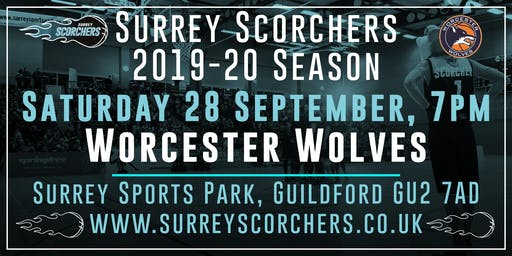 Surrey Scorchers v Worcester Wolves - 2019-20 BBL Cup