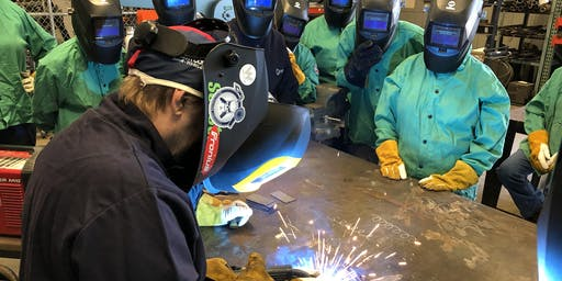 Women Who Weld® Week-Long Intensive GMAW/MIG Welding Training Class