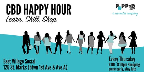 CBD Weekly POP-UP HAPPY HOUR East Village tickets