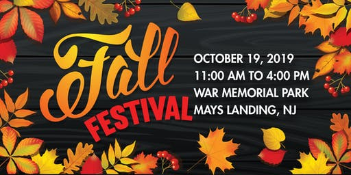 Mays Landing's 2019 Fall Festival - Vendor Registration