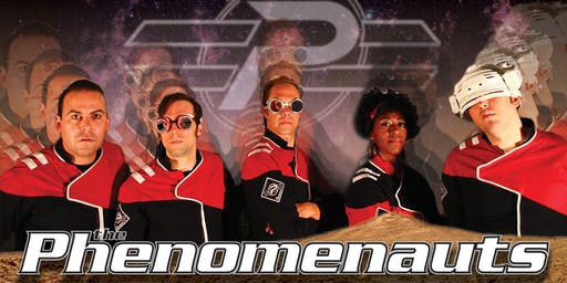 The Phenomenauts at Rock City Studios