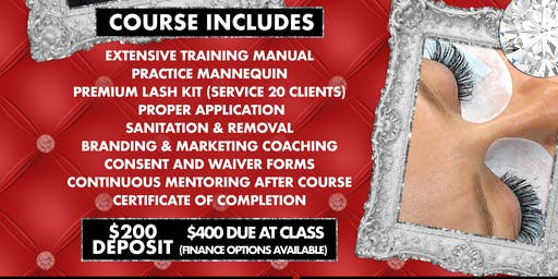 Lash Extensions 1 Day Course by KThompson
