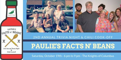Paulie's Facts n' Beans