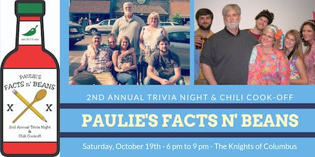 Paulie's Facts n' Beans tickets
