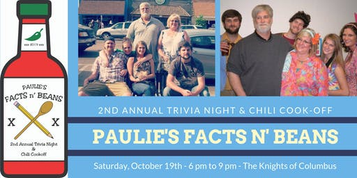 Paulie's Facts n' Beans