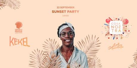 Sunset Party  22/09 - Café de La Musique Floripa ingressos