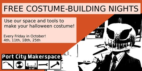 Free Costume-Building Night tickets