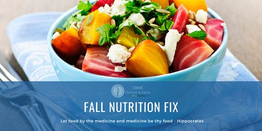Fall Nutrition Fix