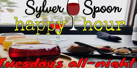ALL-NIGHT HAPPY HOUR & Stand-Up Comedy at Sylver Spoon tickets