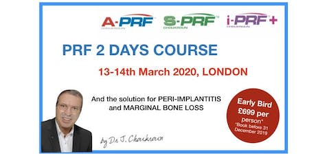PRF 2 Days Lecture&Hands-on Course with Dr Joseph Choukroun tickets