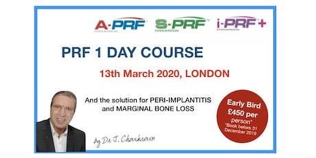 PRF 1 Day Lecture Course with Dr. Joseph Choukroun tickets