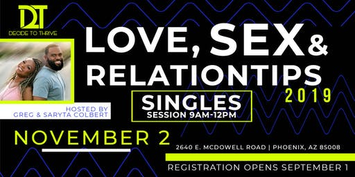 Love, Sex & Relation-Tips: Single's Edition