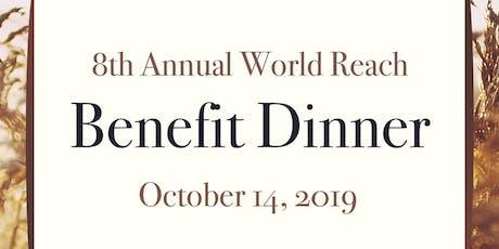 World Reach Benefit Dinner tickets