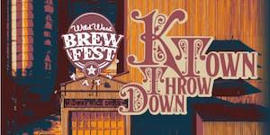 Wild West Brewfest presnts the K-Town Throw-Down!