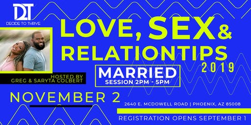 Love, Sex & Relation-Tips: Marriage Edition