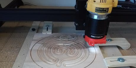 Using the X-Carve CNC tickets