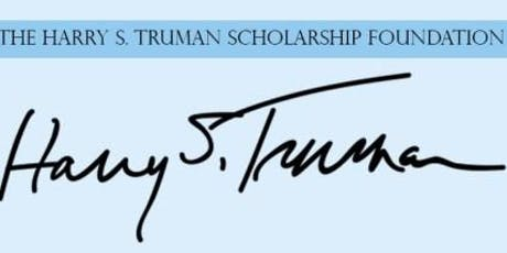 Truman Scholarship for Public Service: General Information Session tickets