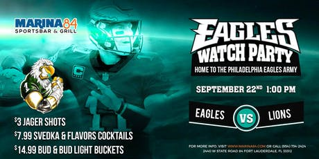 Eagles Watch Party - Eagles vs Lions tickets