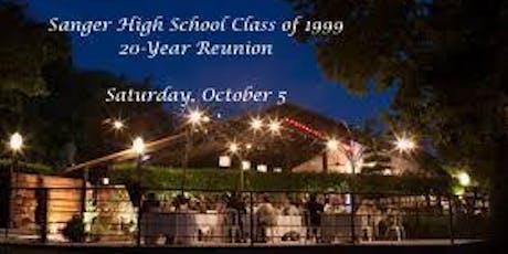 SHS Class of 1999 20-Year Reunion tickets