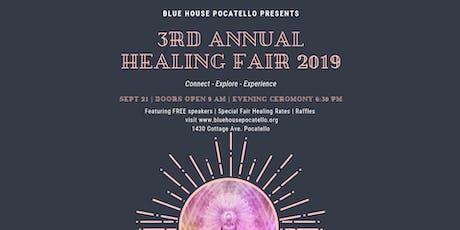 3rd Annual Healing Fair 2019 Blue House Pocatello tickets