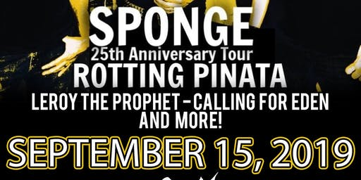 Sponge at The Rail Club Live