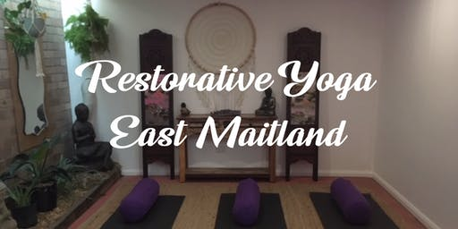 Restorative Yoga - East Maitland - Fortnightly Classes
