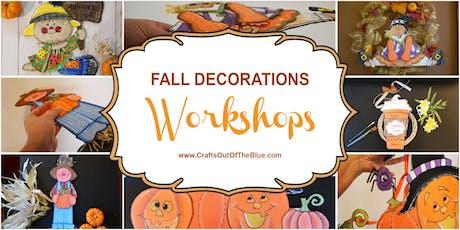 Fall Decor - Crafts tickets