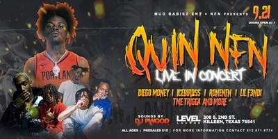 Quin Nfn Live In Concert All ages are welcome , Killeen TX