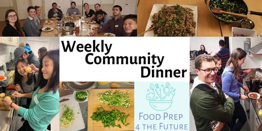 Weekly Community Dinner by FP4TF (September/October)