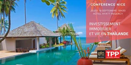 Nice - Conférence: Vivre et Investir en Thaïlande billets
