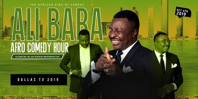 ALIBABA LIVEIN DALLAS FOR THE NIGERIA INDEPENDENCE DAY CELEBRATION 10/04/19