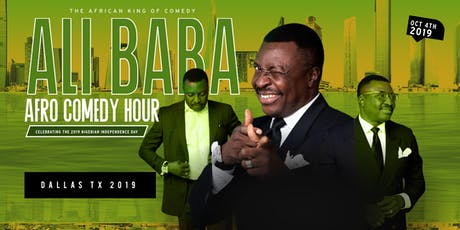ALI BABA LIVE IN DALLAS FOR THE NIGERIA INDEPENDENCE DAY CELEBRATION 10/04/19 tickets