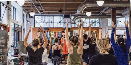 Yoga Flow - FREE Community Yoga tickets