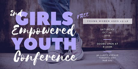 Girls Empowered Conference 2019 tickets