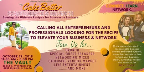 CakeBatter Conference & Brunch tickets