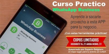 Curso Practico de WhatsApp Business II entradas