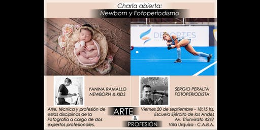 CHARLA ABIERTA SOBRE FOTOPERIODISMO Y NEWBORN