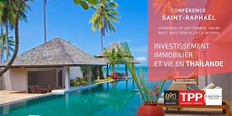 Saint-Raphaël  - Conférence: Vivre et Investir en Thaïlande billets