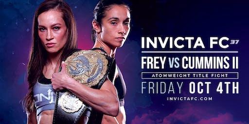 Invicta Fighting Championships 37: Frey vs Cummins ll
