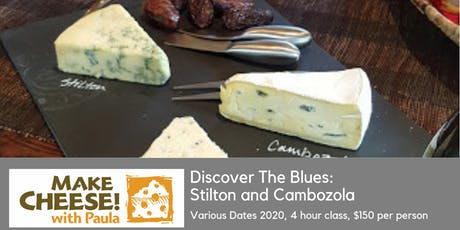 Cheesemaking: Stilton and The Blues tickets