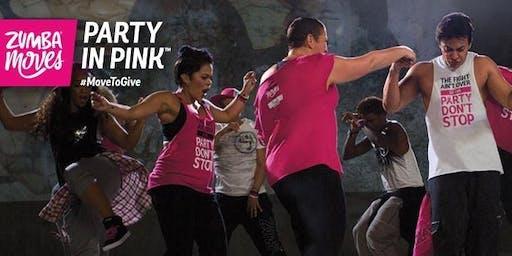 Party in Pink Zumbathon