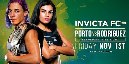 Invicta Fighting Championships 38 Porto vs Rodriguez