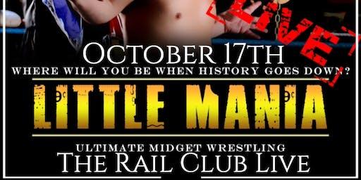 Midget Wrestling at The Rail Club Live