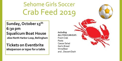 Sehome Soccer Crab Feed
