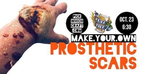 Make your own Prosthetic Scars at Full Tilt Brewing