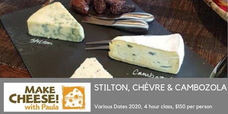 Cheesemaking - Stilton, Chevre & Cambozola tickets