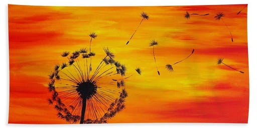 Dandelion Paint Night